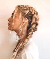 dutch braids - pinterest